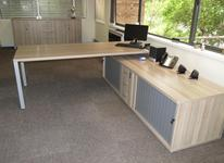Combination Desk and Pedenza